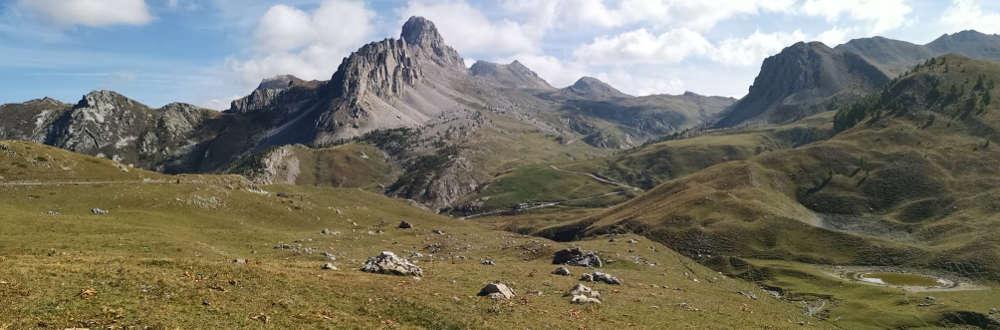 L'Altopiano della Gardetta con al centro la Rocca la Meja - Foto di F M Petti