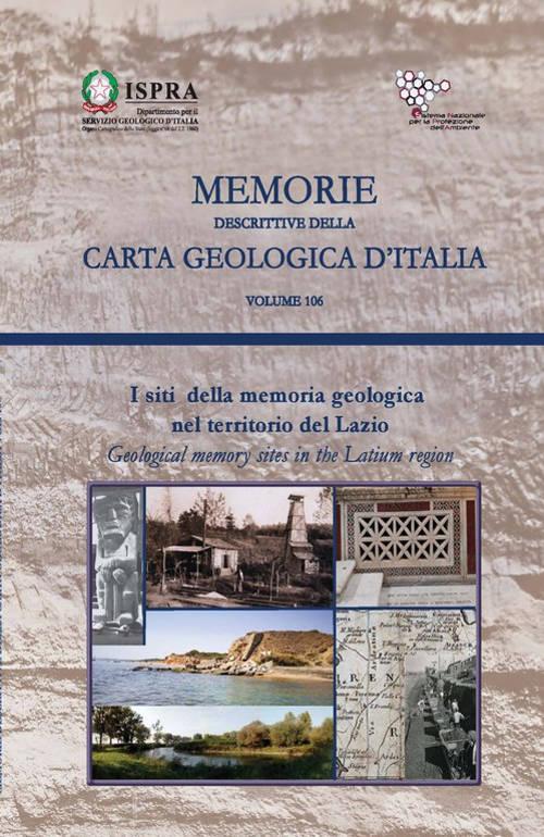 libro geositi Lazio