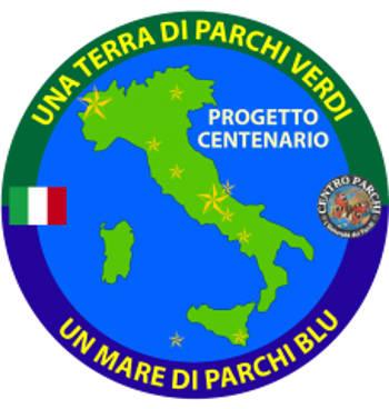 logo centenario parchi