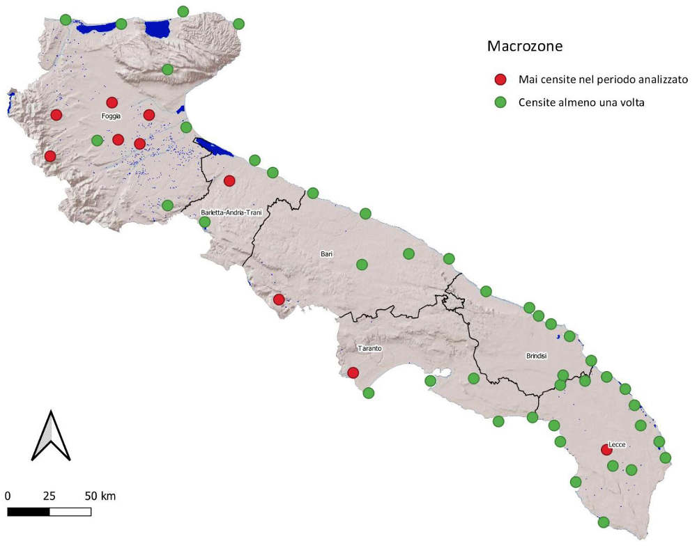 Puglia zone umide