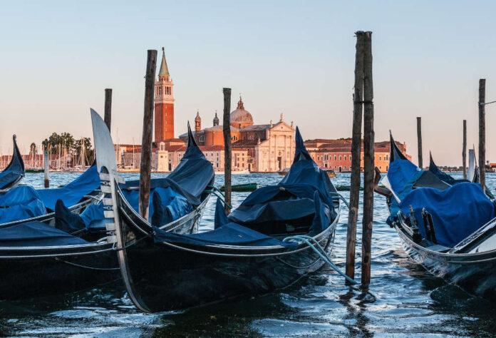 gondola venezia subsidenza