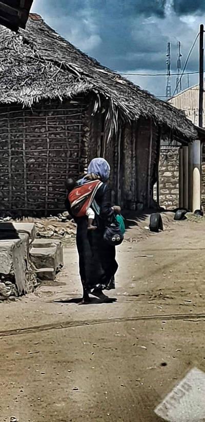 Kenya donna povertà