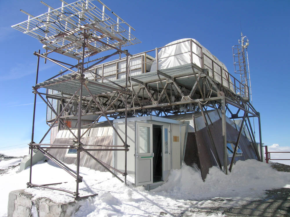 Il laboratorio del Plateau Rosa