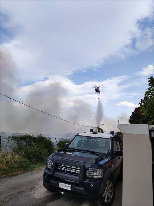 Intervento contro gli incendi